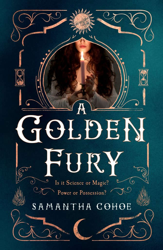 Book cover of A Golden Fury